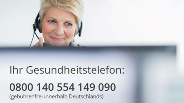 SVLFG-Gesundheitstelefon