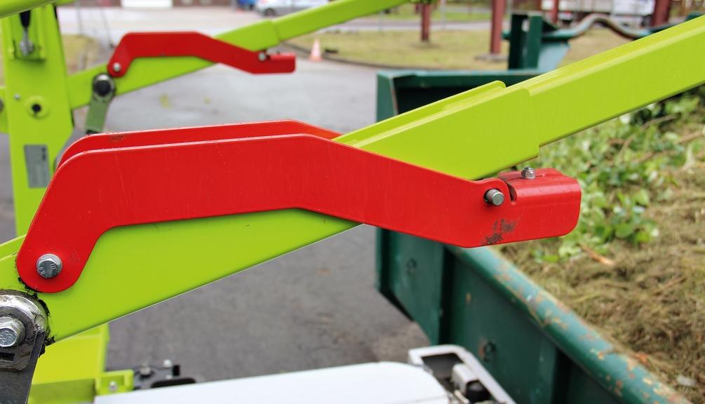 Bild: Container mit mechanischer Abstützung und Sicherung