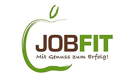 Logo der Internetseite JOB&FIT der Deutschen Gesellschaft für Ernährung