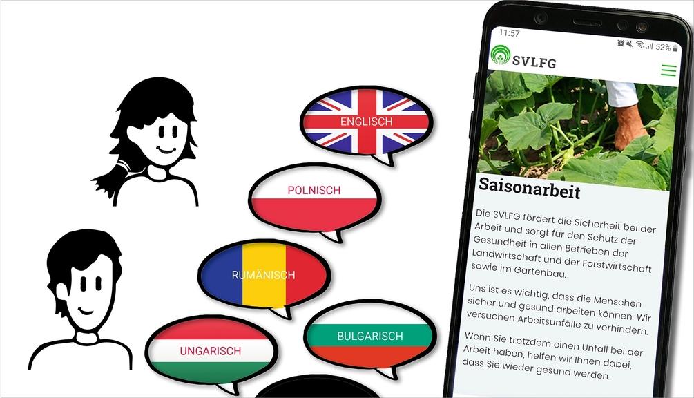 Infografik zur Web-App Saisonarbeit