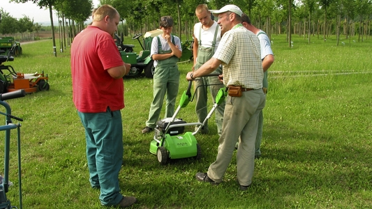 Unterweisung in der Grünpflege