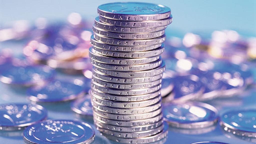 2-Euro-Münzen gestapelt